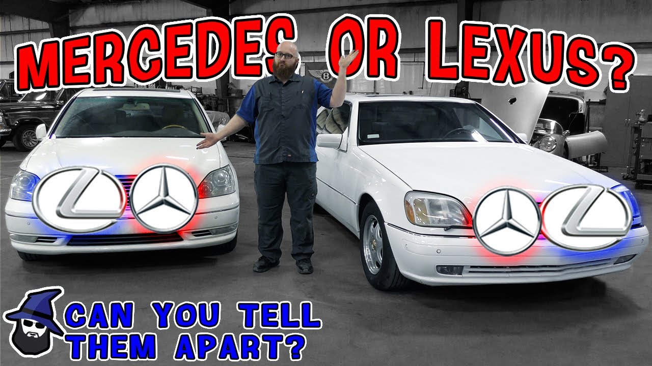 Mercedes vs Lexus! Can you tell them apart? CAR WIZARD shows just how similar these cars are!