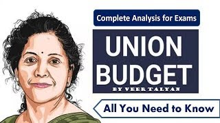 Budget 2019 Complete analysis in HINDI for all exams - Current Affairs 2019 - Union Budget- 2019-20