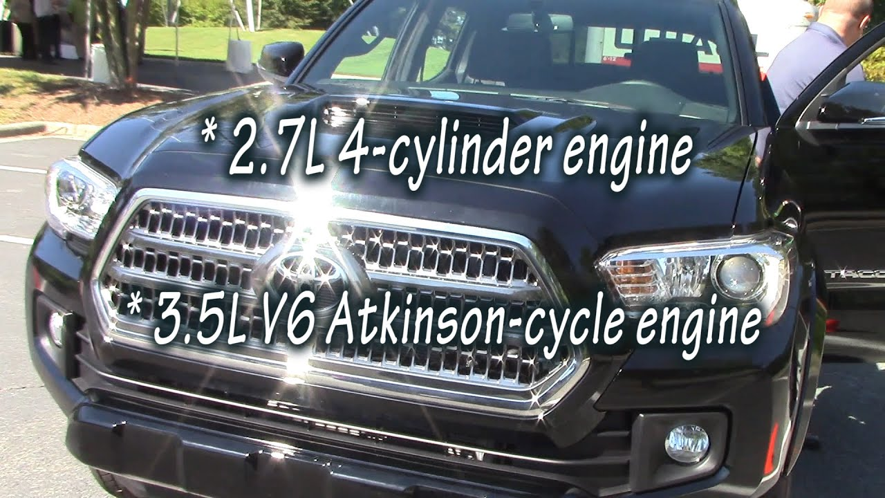 Lovely 2016 Toyota Tacoma MPG Fuel Economy   YouTube