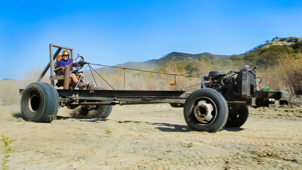 Motorhome Mashup Part 2: Monster Go-Kart Challenge! - Dirt Every Day Ep. 28 - YouTube