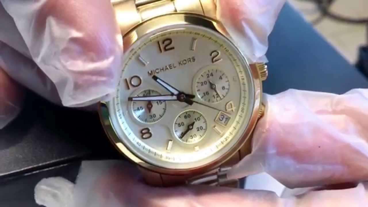 Najnowsze Zegarek Michael Kors MK5055 Luksus na twej dłoni! - YouTube WI75