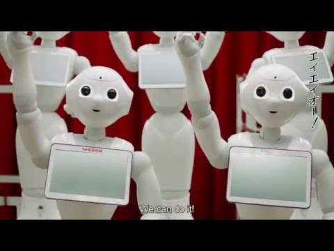 Pepper for Biz - Nissan x SoftBank