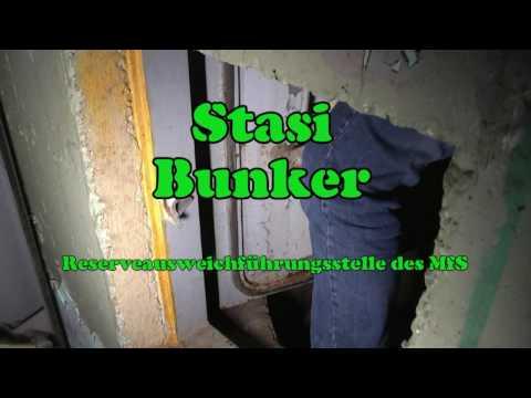 Besuch eines ehemaligen Stasibunkers