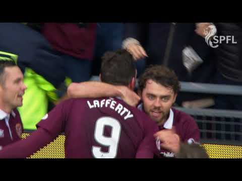 Lafferty scores brilliant goal for Hearts v Celtic