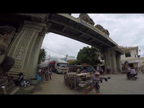 Siem Reap Part I : Aranyaprathet crossing Poipet Cambodia Border...ด่านโรงเกลือ-ปอยเปต กัมพูชา
