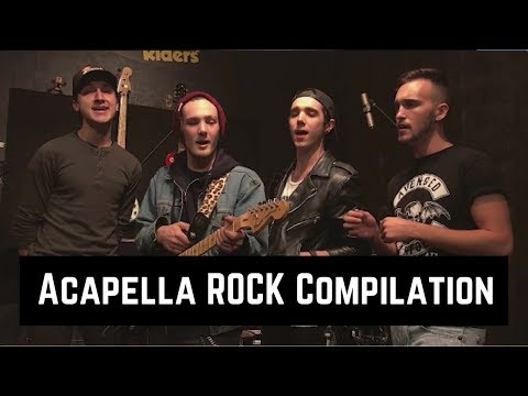 EPIC ACAPELLA ROCK SONG COMPILATION