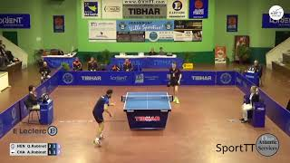 Pro a quentin robinot vs alexandre robinot [ french league 2017/2018 ]