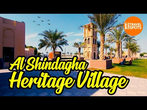Dubai  Shindagha, Heritage Village, Dubai Creek