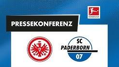 Pressekonferenz vor dem Spiel bei Eintracht Frankfurt