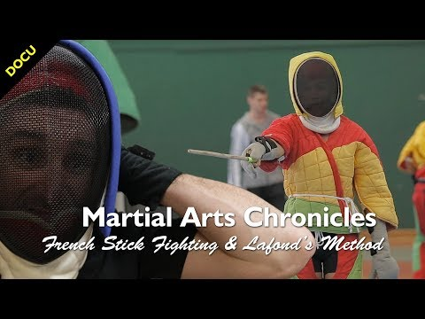 🇺🇸 French Stick Fighting & Method's Lafond - Martial Arts Documentary