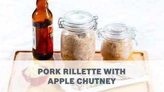 Pork Rillette with Apple Chutney