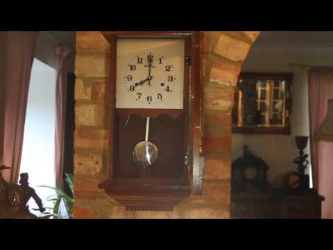 Vintage 31-Day Wall Clock 'Vintage' with Chimes