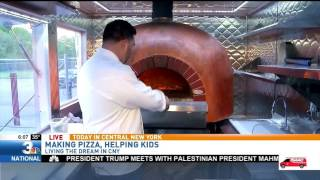 Brandon Roth Live With Wood Fire Pizza Food Truck 6AM 5/4/17