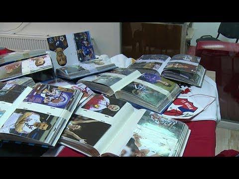 Imponująca kolekcja i autografy gwiazd światowego sportu