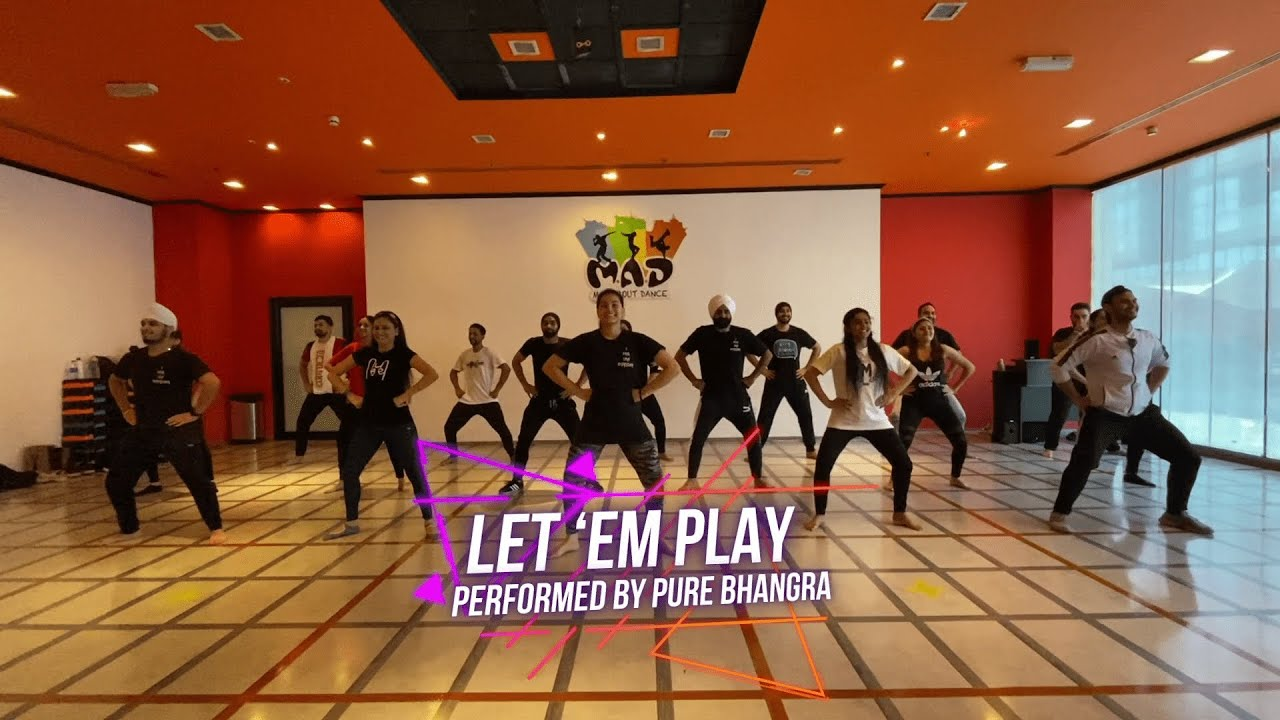 Let 'em Play Bhangra Video by Pure Bhangra