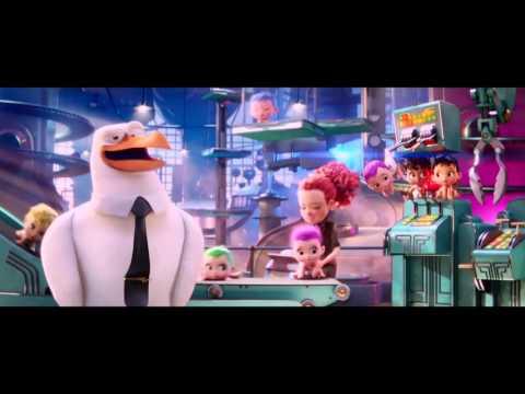Bociany |Čapí dobrodružství | Storks  trailer, český dabing 2016