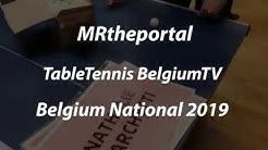 Best Of Belgium National 2019 TABLE TENNIS