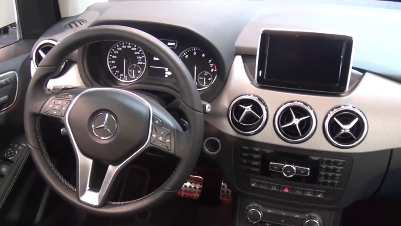 all new 2013 mercedes benz b class in out design youtube. Black Bedroom Furniture Sets. Home Design Ideas
