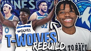 REBUILDING THE MINNESOTA TIMBERWOLVES IN NBA 2K21 NEXT-GEN