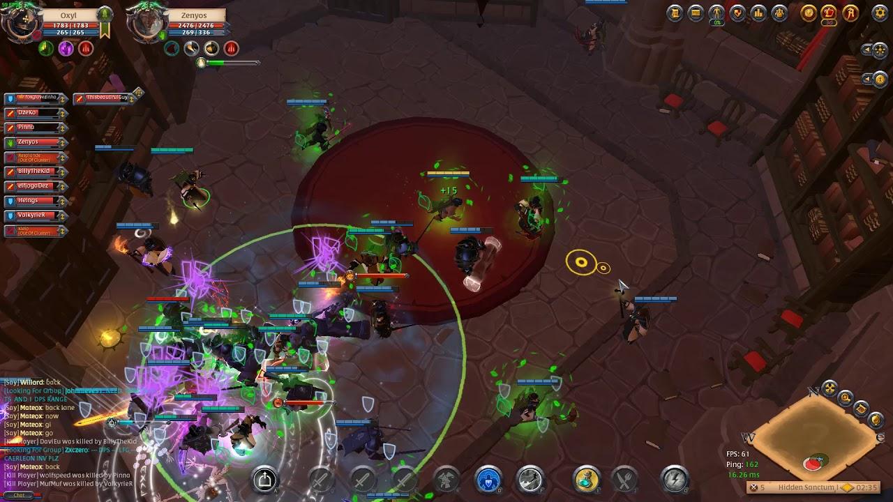 Alysson Sterling albion online - healer (rampant staff) - faction warfare - lymhurst vs fort  sterling