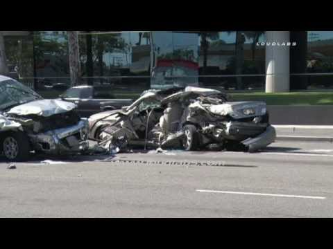 Fatal Traffic Collision / Buena Park   RAW FOOTAGE