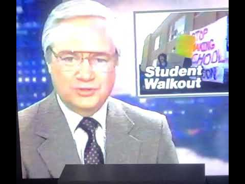 North Providence High School - 1986 Walkout