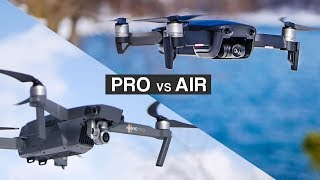 DJI MAVIC AIR VS DJI MAVIC PRO | Complete in-depth filmmaker REVIEW