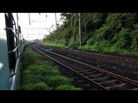 Indore pune express 22944 -Karkjat to lonavala Monsoon
