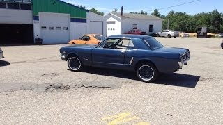 1965 Mustang 289 New Carburetor install!
