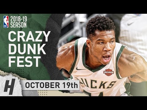 Giannis Antetokounmpo EPIC Highlights vs Pacers 2018.10.19 - 26 Pts, 15 Reb, DUNKFEST