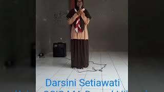 Sambutan Ketua OSIS periode 2016/2017