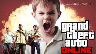 Бомбящий школьник в гта 5 онлайн на (пс4)