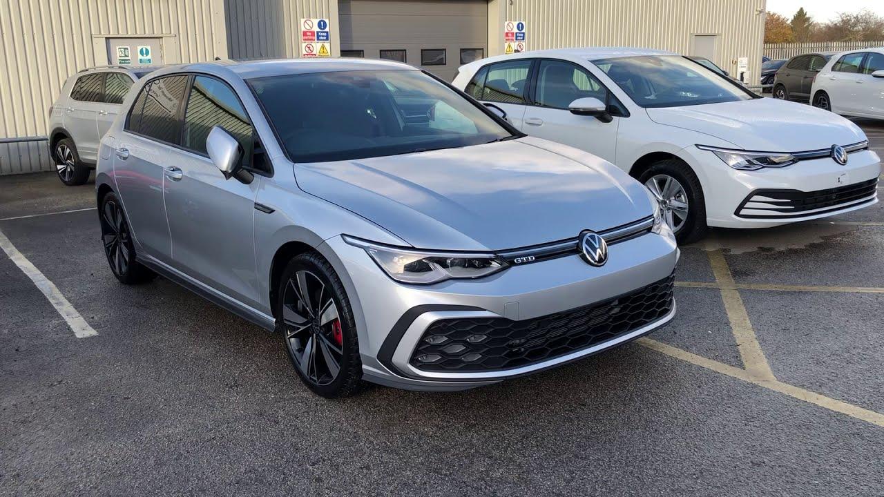 Volkswagen Golf 8 2 0tdi Gtd Reflex Silver New Car Wrexham Volkswagen Youtube