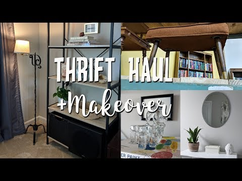 Home Decor Thrift Haul+Thrifted Makeovers & How I Style Thrifted Items in my Home