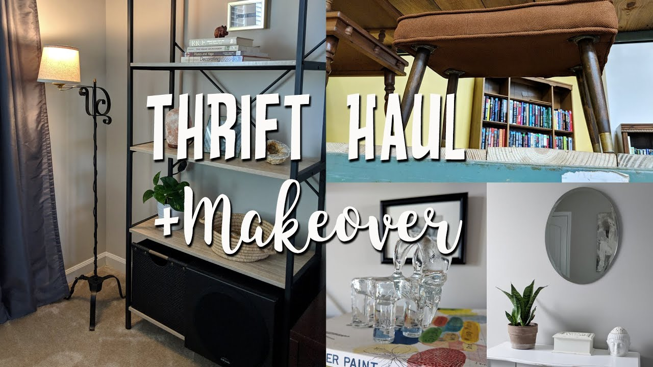 Home Decor Thrift Haul Thrifted Makeovers How I Style Items In My