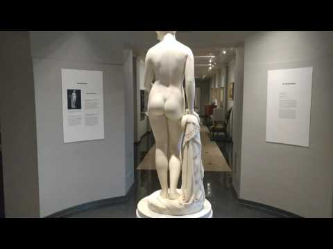 NEWARK MUSEUM's ''THE GREEK SLAVE'' by HIRAM POWERS in 1847
