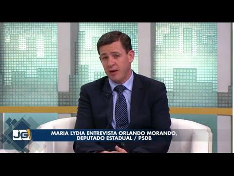 Maria Lydia entrevista Orlando Morando, deputado estadual/PSDB