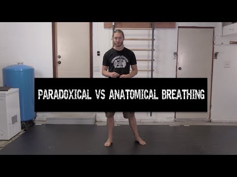 Paradoxical vs. Anatomical Breathing for Fitness