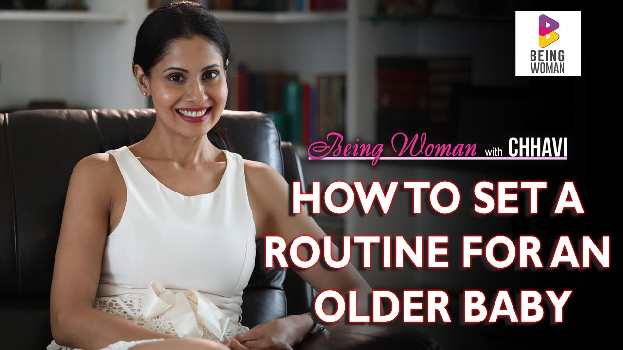 HOW TO SLEEP TRAIN AN OLDER BABY | BEING WOMAN with Chhavi