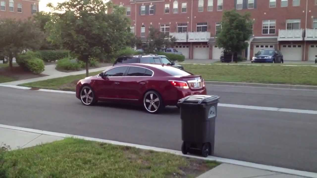 Buick Lacrosse On 22 Inch Donz In Motion 1 Youtube