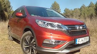 NEW HONDA CR-V 1.6 i-DTEC 160 CV 4WD 2015 - FIRST TEST DRIVE