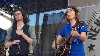 "Brandi Carlile with Hozier ""The Joke"" Live at Newport Folk Festival, July 28, 2019"