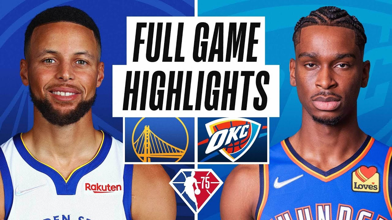 Watch Thunder vs. Warriors: TV channel, live stream info, start time