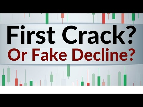 First Crack In The S&P or [Fake Decline]