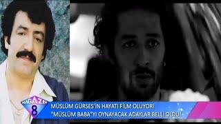 Müslüm Gürses'in Hayatı Film Oluyor Müslüm Baba'yı Oynayacak Adaylar Belli Oldu