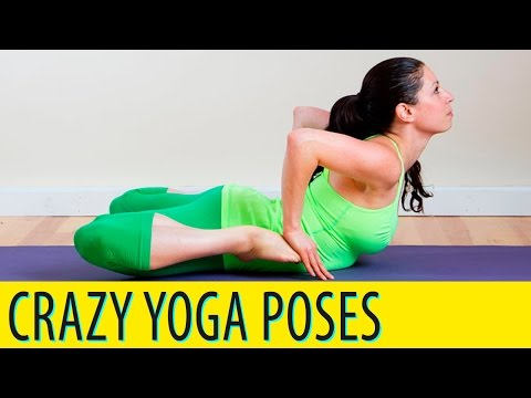 Crazy Yoga Poses: Don't Even Try These Crazy Yoga Poses At Home