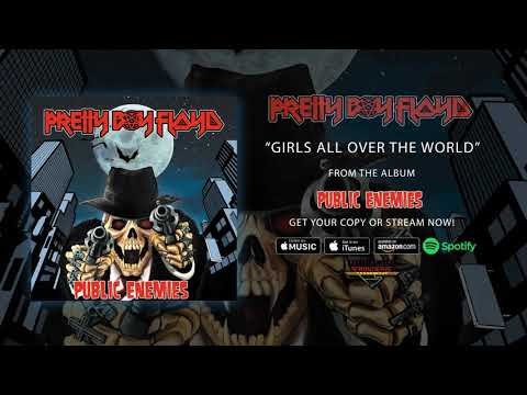 """Pretty Boy Floyd - """"Girls All Over the World"""" (Official Audio)"""