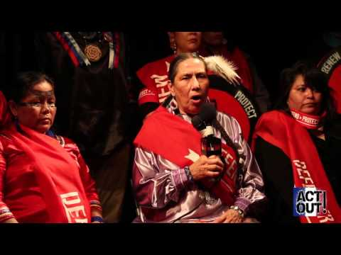Act Out! in Paris [1] - Indigenous solutions put COP21 to shame