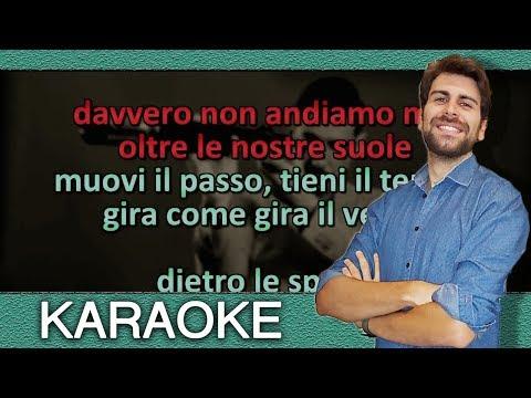 Francesco Gabbani - Tra le granite e le granate (KARAOKE con testo - ORIGINALE)