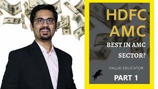 HDFC Asset Management Company (HDFC AMC) Detailed Fundamental Analysis Part 1